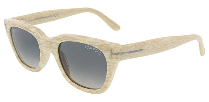 a8582acd6fa Image Unavailable. Image not available for. Color  TOM FORD TF 237 60B Sunglasses  Snowdon Beige  Grey Gradient 50mm