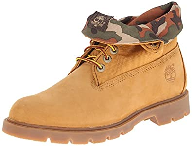 Amazon.com | Timberland Men's Basic Single Roll-Top Boot