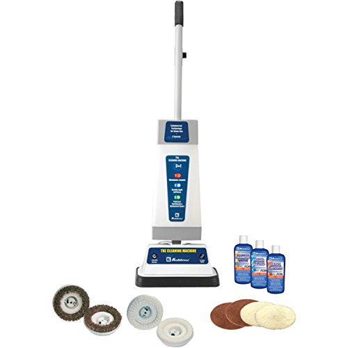 (Koblenz P-820 B Shampooer/Polisher Cleaning Machine, Blue/Gray)
