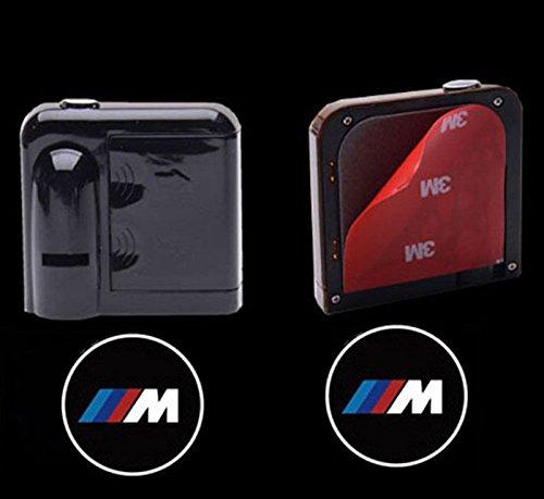 proyector fantasma para B MW M logo Bestmy 2 faros LED inal/ámbricos para puerta de coche