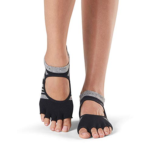 Donna Grip Bellarina Toe slip Socks For Eclipse Calze amp; Half non Toesox Yoga Pilates Ballet Barre 68fndY