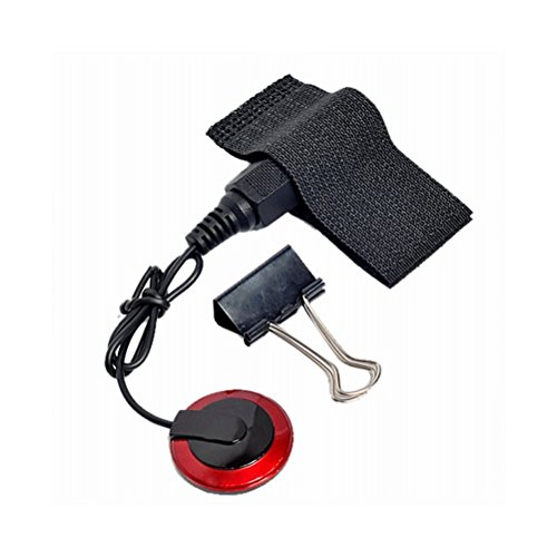 Piano Plug Saddle - SUPVOX Professional Piezo Contact Microphone Pickup with Binder Clips for Guitar Violin Banjo Ukulele Mandolin (Black)
