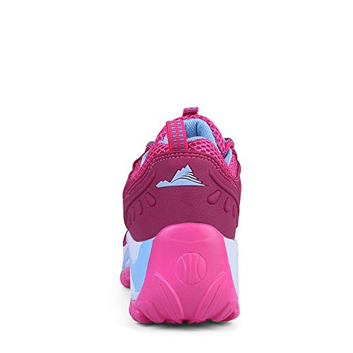 Greifen Damen der Rosa Nicht Schuh leichten Breathable Beleg LIANGXIE mit Die zufällige Turnschuhe Ineinander Schuhe Frauen Schuhe Laufenden Wellen erhöhen Schuhen AS7Wnqvg1