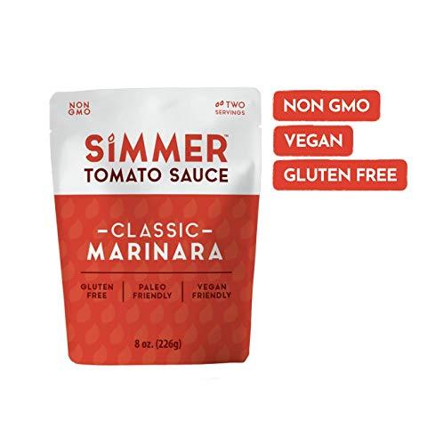Simmer, Pasta Sauce Classic Marinara, 8 Ounce