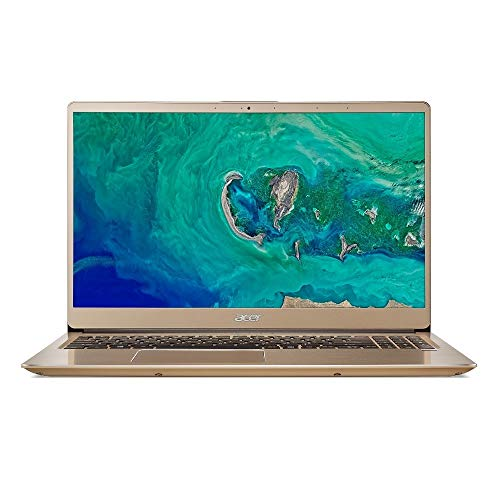"Acer Swift 3 SF315 Laptop: Core i7-8550U, 256GB SSD, 8GB RAM, 15.6"" Full HD IPS Display, Windows 10 (Luxury Gold)"