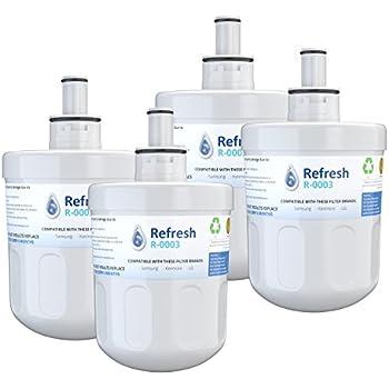 4 x Samsung Aqua-Pure DA29-00003G Plus Compatible Water Filter for Refrigerator - Aqua-Pure Water Filters 4 Pack