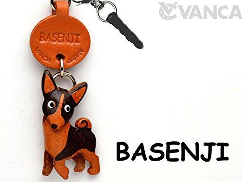 Basenji Leather Dog Earphone Jack Accessory / Dust Plug /...