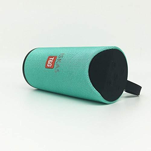 TG113 Bluetooth Speakers 10w Mp3 AUX USB FM Radio Stereo Subwoofer- GREEN
