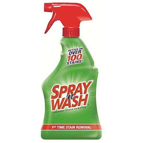Spray 'n Wash Pre-Treat Laundry Stain Remover, 264 fl oz (12 Bottles x 22 oz) by Resolve