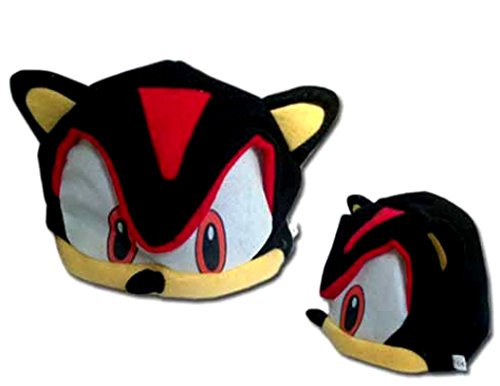 Shadow Sonic Costume (Sonic X Cosplay Shadow Black Fleece Cap by Sonic X)