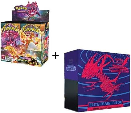 Pokemon TCG Sword and Shield Darkness Ablaze Booster Box