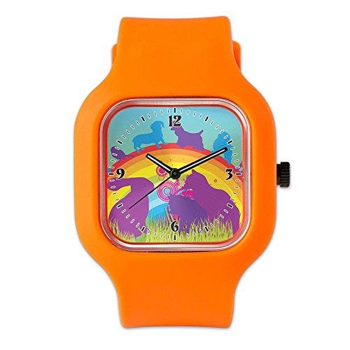 orange-fashion-sport-watch-animal-dog-cat-bird-lover-rainbow