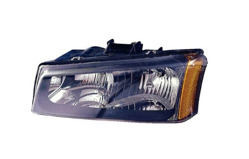 - 2003-2004 (03 04) Chevy Silverado Headlight Assembly - One Pair (Both Driver and Passenger Sides) - DOT Certified Chevrolet Headlights