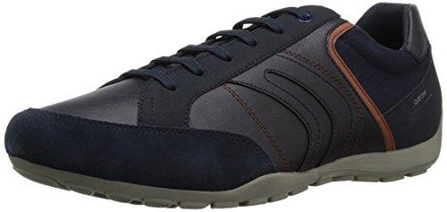 Geox Schuhe Schnürschuhe Halbschuhe Freizeitschuhe Ravex Blau Blau