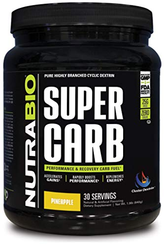 NutraBio Super Carb Pineapple Servings