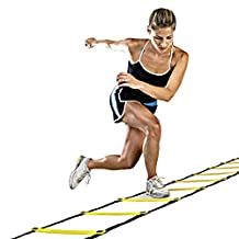 Smartcoco Durable 9 rung Agility Ladder Speed Soccer Football Fitness Feet Training Ladder