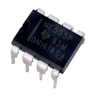 Swiftswan Neue 20PCS NE555P NE555 DIP-8 Single Bipolar Timer IC TOP hohe Qualit/ät
