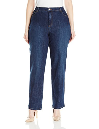 Gloria Vanderbilt Women's Plus Size Amanda Classic Tapered Jean, Scottsdale Wash, 16W