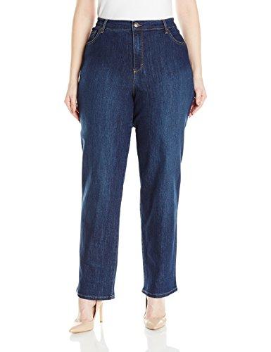 - Gloria Vanderbilt Women's Plus Size Amanda Classic Tapered Jean, Scottsdale Wash, 18W