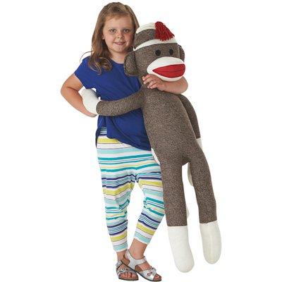 Schylling Jumbo Sock Monkey -