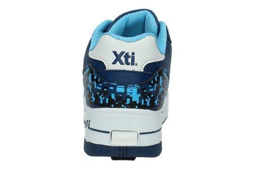 XTI Zapatillas para deportes de exterior para niño Azul azul: Amazon.es: Zapatos y complementos