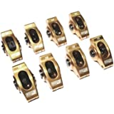 """COMP Cams 19002-8 Ultra-Gold Aluminum Roller Rocker Arm with 1.6 Ratio and 3/8"""" Stud Diameter for Small Block Chevrolet, (Set of 8)"""