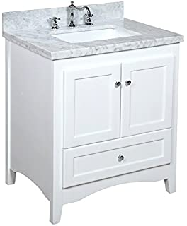 kitchen bath collection abbey bathroom vanity set with marble countertop cabinet with soft close