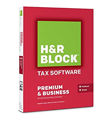 Block Financial H&R Block Tax Software 14 Premium & Business