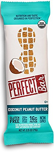 Perfect Bar - Organic Coconut Peanut Butter - 2.5 oz, Case of 8