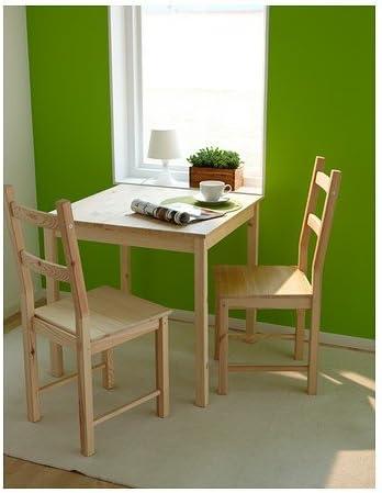 2 x Ivar Stuhl Ikea Echtholz Kiefer Esszimmer