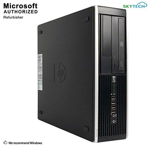 2018 HP Compaq Pro 6300 SFF Desktop Computer, Intel Core I3-3220 3.3GHz, 16GB DDR3, 2TB HDD, DVD,WIFI,HDMI, VGA,Display Port,Bluetooth 4.0,Windows 10 Professional 64 Bit - Microphone Compaq Computer