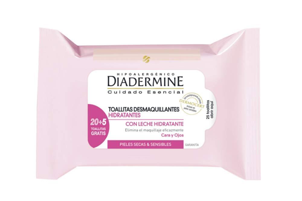 Diadermine Essentials Toallitas Desmaquillantes Hidrantantes - 25 ...
