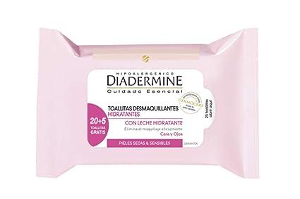 Diadermine Essentials Toallitas Desmaquillantes Hidrantantes ...