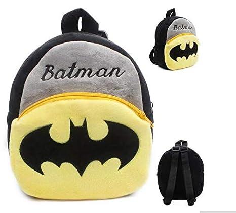 Niños Peluche Batman De Animados Mochila Niñas Personaje Dibujos 354ARqjL