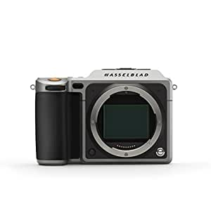 """Hasselblad X1D-50c (Body Only) with 3"""" LCD, Silver & Black (H-3013901)"""