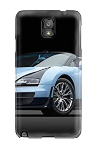 Snap-on Bugatti Veyron Case Cover Skin Compatible With Galaxy Note 3
