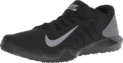 Nike Retaliation Trainer 2 Men's Training Shoe, Black/MTLC Cool Grey-Anthracite, 12 M US