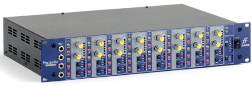8 Channel Microphone Pre Amplifier - Focusrite ISA828 Eight Classic Microphone Pre-Amps
