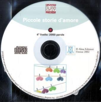 Italiano Facile - Stufe 4/Piccole storie d'amore: Audio-CD
