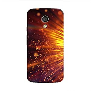 Cover It Up - Gold Exploding moto G2 Hard Case