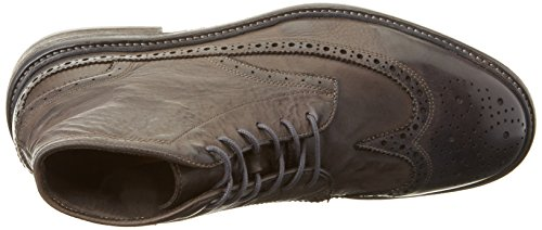 Hudson Londen Herren Rayden Trommel Kleurstof Grijze Chukka Boots Grau (grijs)