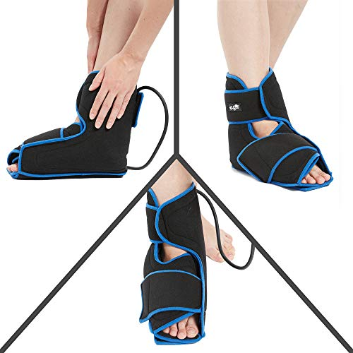 Bodyprox Ankle Ice Pack Injuries, Hot & Cold Air Compression Ankle Brace Support, Helps Stabilize Relieve Achilles Tendon Pain, Ankle Sprains, Arthritis, Joint Pain Sports Injury by Bodyprox (Image #6)