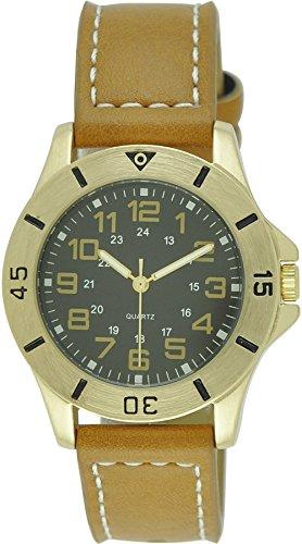 Moulin Unisex Oversize Easy Reader Sport Brown Watch #17877.71644 - Regular Unisex Watch
