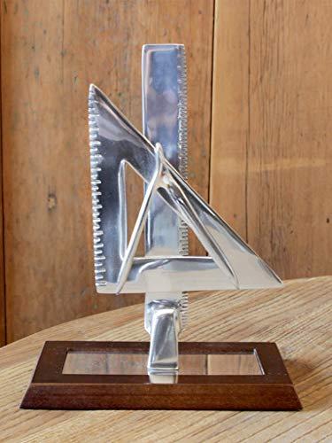 Escultura Mesa Arquitetura Escritório Decoração Sarquis Samara Imbuia