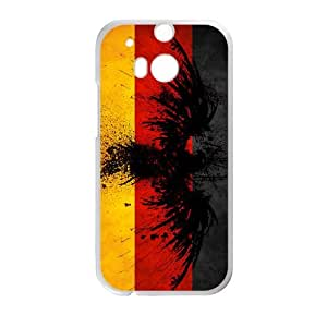 Germany Flag HTC One M8 Cell Phone Case White I0459168