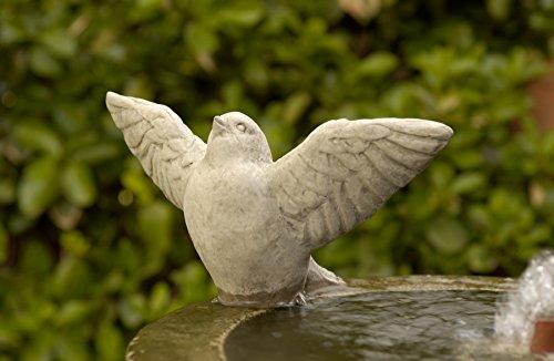 Campania International A-305-VE Flutter Statue, Verde - Animal Campania Cast Stone