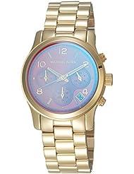 Michael Kors Womens Runway Gold Watch