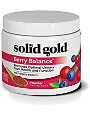 Solid Gold - Berry Balance Powder - Dog & Cat Supplement for Urinary Tract Health with Antioxidant-Rich Cranberries - 3.5 oz