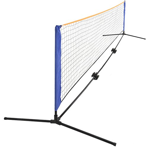 New 20FTx2.9FT Portable Badminton Net Tennis Volleyball Play Training w/ Carrying Bag by Eosphorus