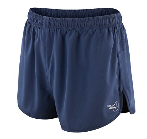 Time to Run Men's Pace Running Short Large - No Shorts Running Liner